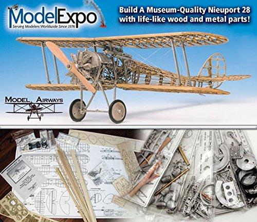 Model Airways Nieuport 28 Rickenbacker Airplane 1917 1:16 MA1002 - Model - Complete Airway