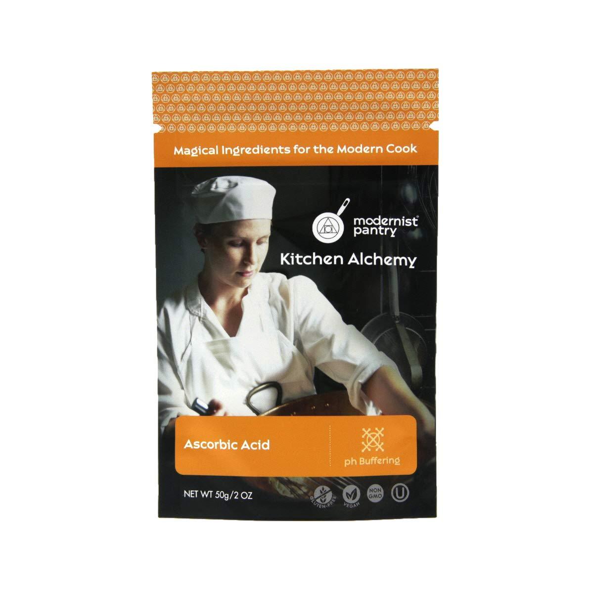 Pure Ascorbic Acid ⊘ Non-GMO ❤ Gluten-Free ☮ Vegan ✡ OU Kosher Certified - 50g/2oz