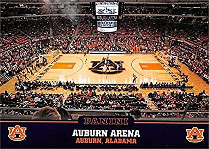 Auburn Arena Basketball Card Auburn Tigers 2016 Panini