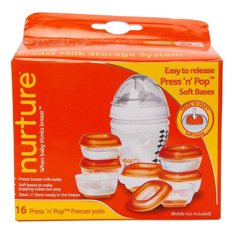 Vital Baby Breast Milk Storage Set