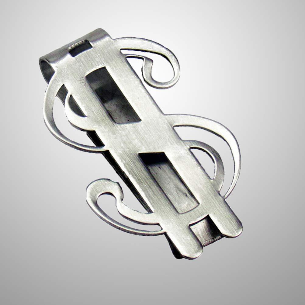 Vosarea Pinzas de acero inoxidable para billetes de d/ólar