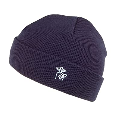 1979980d6f8 The Quiet Life Hats Shhh Beanie - Navy 1-Size  Amazon.co.uk  Clothing