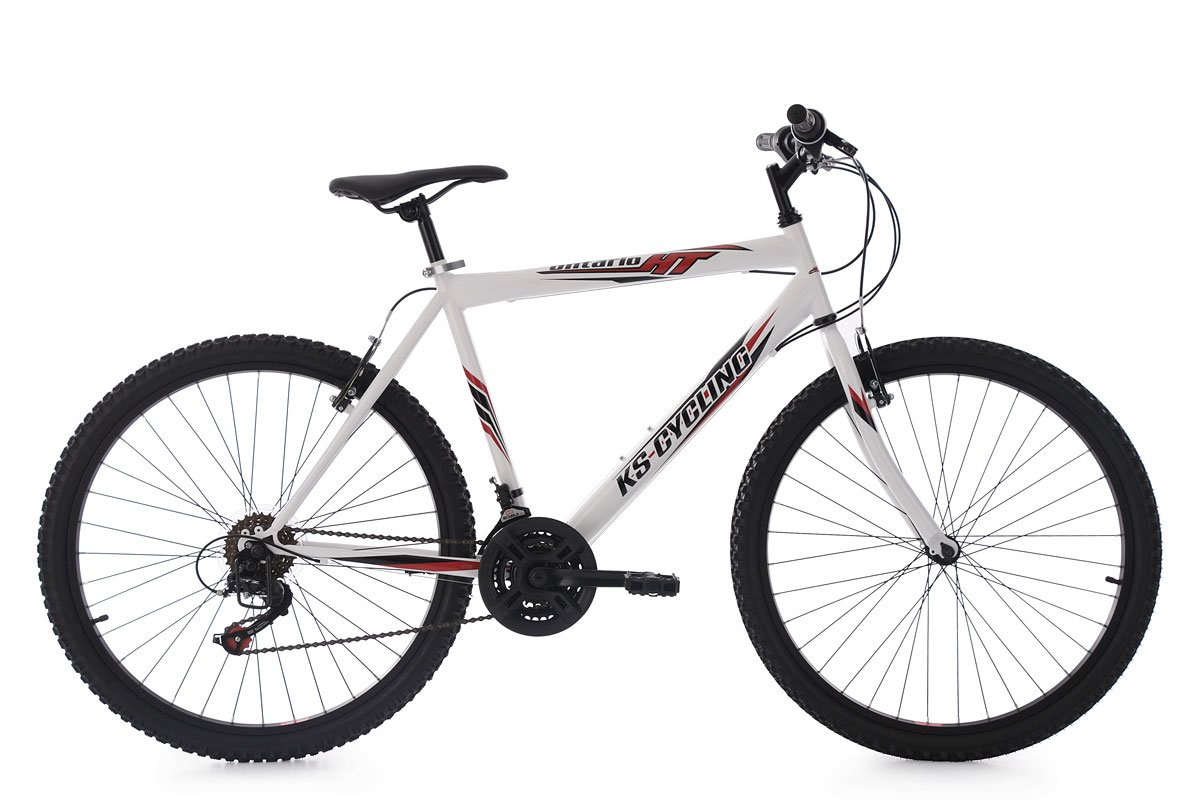 KS Cycling Mountainbike Hardtail 26& 039;& 039; Ontario weiß Fahrrad