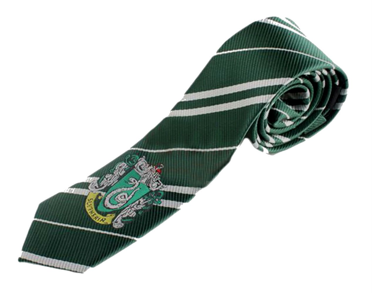Harry Potter House Crest Tie 57 x 2.75 InspireMe Family Owned (Slytherin - Green/Gray)