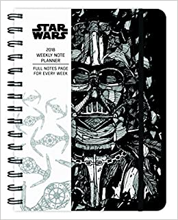 Star Wars 2018 Weekly Note Planner: Trends International ...