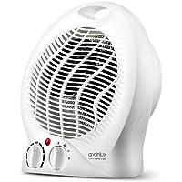 Gridinlux | Calefactor Eléctrico Vertical | 3 Modos 2 Potencias y Ventilador | 1000…