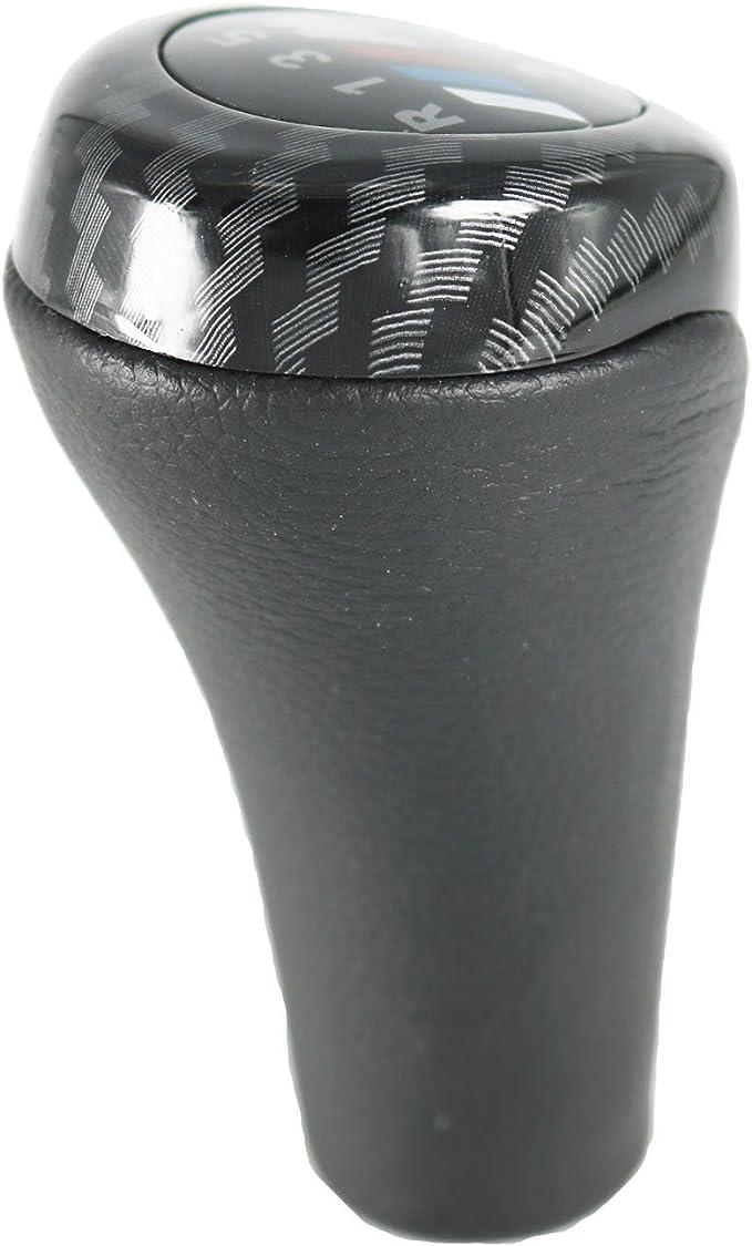 kangbeier For BMW 1 3 5 6 Series E30 E32 E34 E36 E38 E39 E46 E53 E60 E63 E83 E84 E90 E91 6 Speed Gear Shift Knob Carbon Fiber