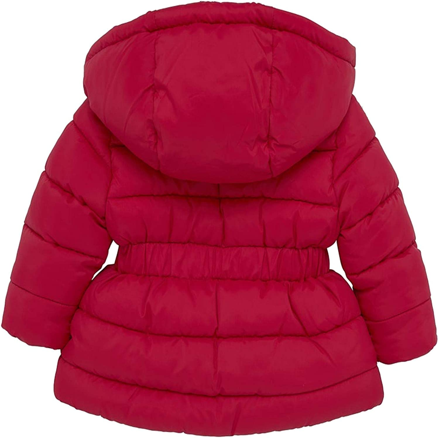 Red 414. Girls Baby Toddler Quilted Jacket Lined and Padded Winter Coat Mayoral
