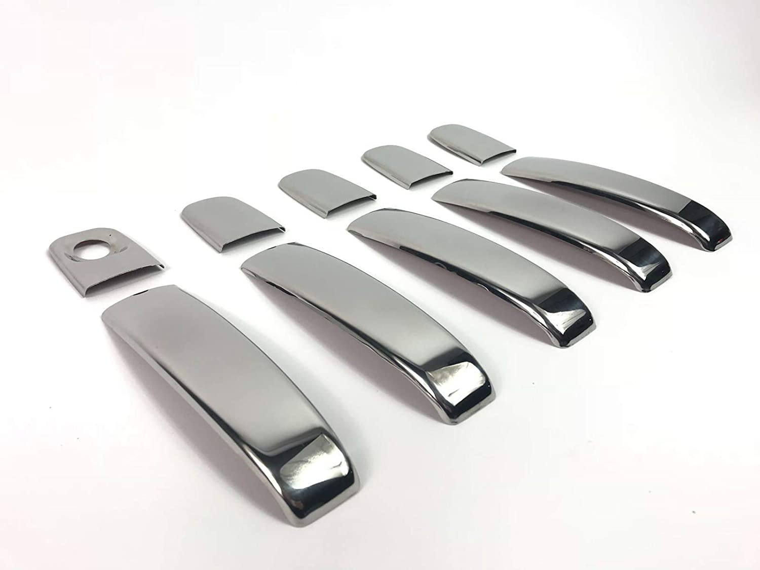 Fit Nissan Primastar 2001-2014 Abs Chrome Mirror Cover Door Handle 4door S.STEEL