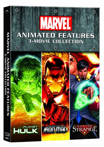 (Planet Hulk / Dr. Strange / The Invincible Iron Man (3-Movie Collection))