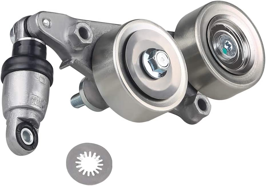 WATERWICH Compatible with Belt Tensioner Assembly Honda Accord 2008-2010 / Odyssey 2005-2010 / Pilot 2006-2011 / Crosstour 2010 Replace# for 39092 19253072 89390