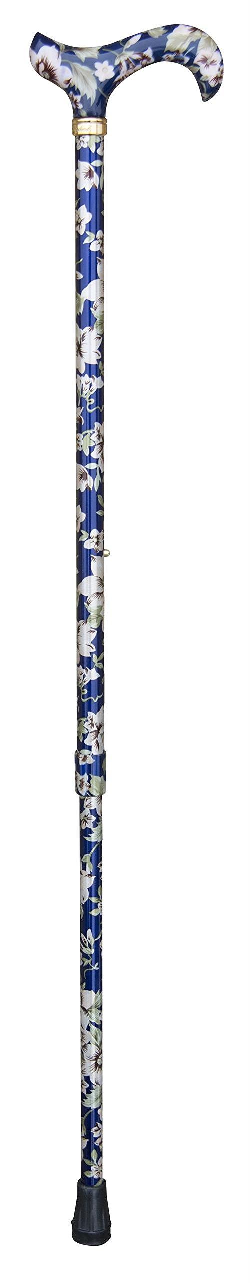 Tea Party Derby Handle (Blue Floral)