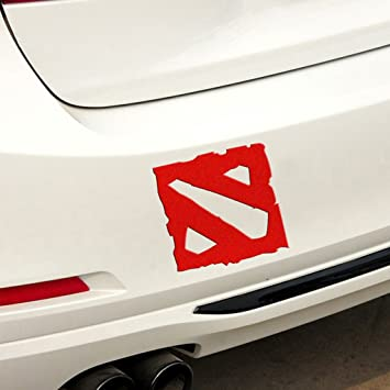Amazon com kaizen dota 2 bumper sticker graphics decals scratch cover for cars vinyl sticker for volkswagentoyotahondachevroletfordmercedes benzaudi