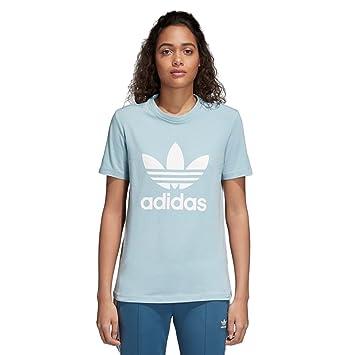 7f3d52bf438 Adidas - Trefoil - T-Shirt - Femme  Amazon.fr  Sports et Loisirs