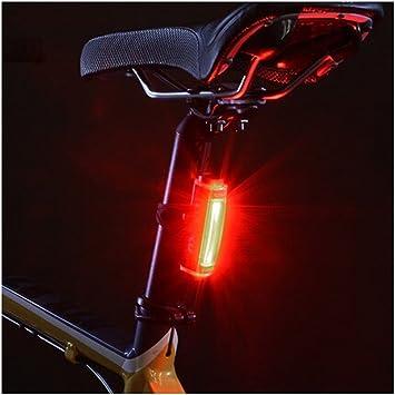 Amadoierly Bicycle Light Bike Ride Luz Trasera y USB Bicicleta de ...