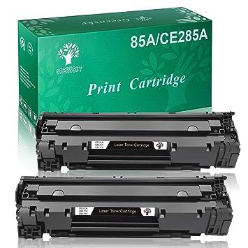 Amazon.com: greensky Remanufacturado CE285 A 85 A, Black ...