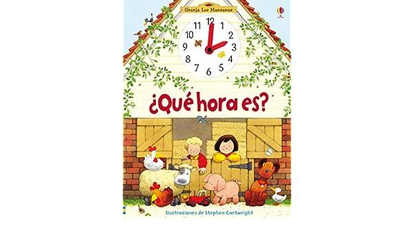 ¿Qué hora es?: Heather Amery: 9781409543763: Amazon.com: Books