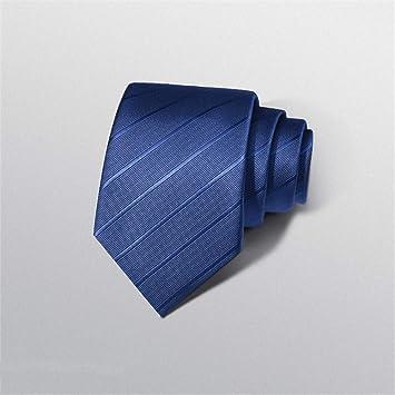 WUNDEPYTIE Corbata De Rayas De Color Negro para Hombres, Vestido ...