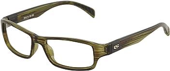 3fcd2c718342 Liberty Sport Eyeglasses X8-200 560 Olive Black Rectangle Optical Frame 54mm