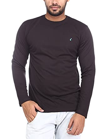 10d2e6a59 Brink Men Black T-Shirt: Amazon.in: Clothing & Accessories