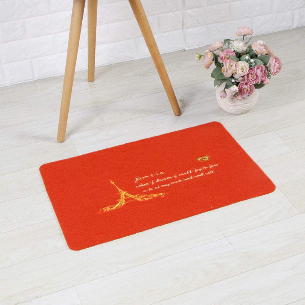 PLLP Carpet Mats, Door Entry Door Mats, Household Bathroom Mats, Porch Living Room Dustproof Mats,C,3858CM