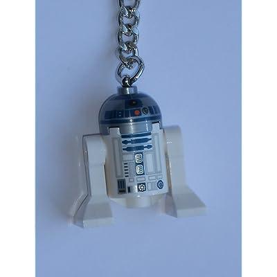 Lego Star Wars R2-D2 Key Chain: Toys & Games
