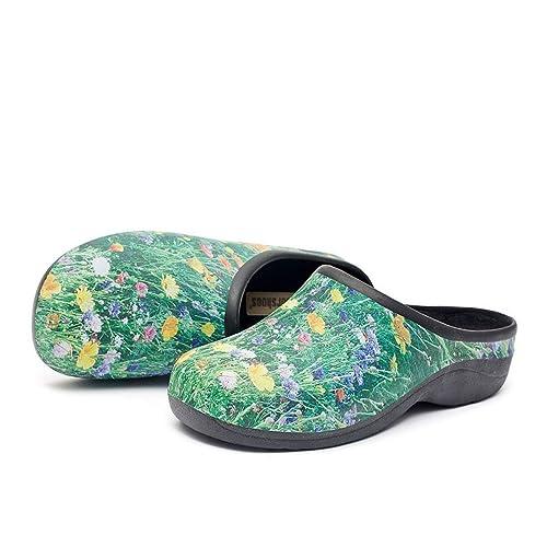 911fdcd2ef4 Zuecos Sanitarios- Zuecos Enfermeras- Cómodos y Originales Backdoorshoes®-  Modelo Prado Mujer-