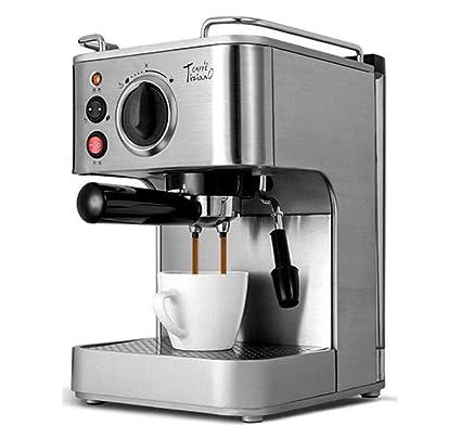 QWE Cafetera para Hacer Café Espresso Comercial Semi Automática ...