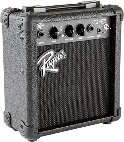 Rogue G5 5W Battery Powered Guitar Combo Amp Black by Rogue