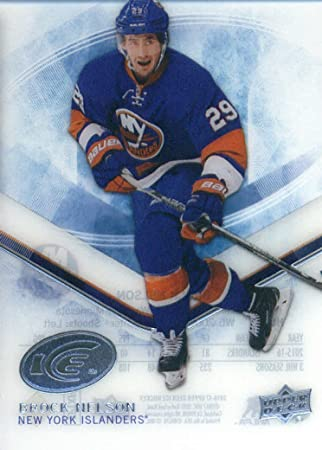 new product b6482 84721 2016-17 Upper Deck Ice #53 Brock Nelson New York Islanders ...