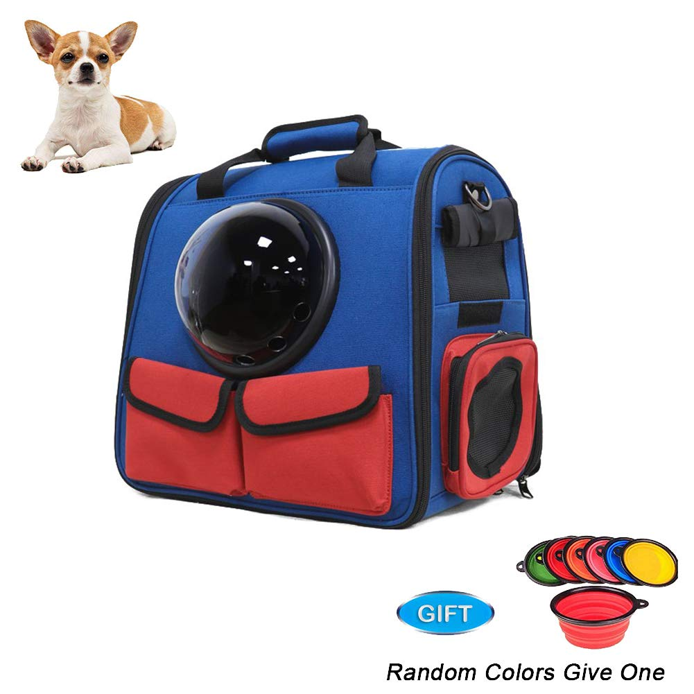 Pet Carrier Backpack,Space Capsule Bubble Transparent Backpack for Cats and Puppies,37  29  33cm