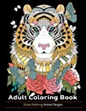 Adult Coloring Book: Animal Designs
