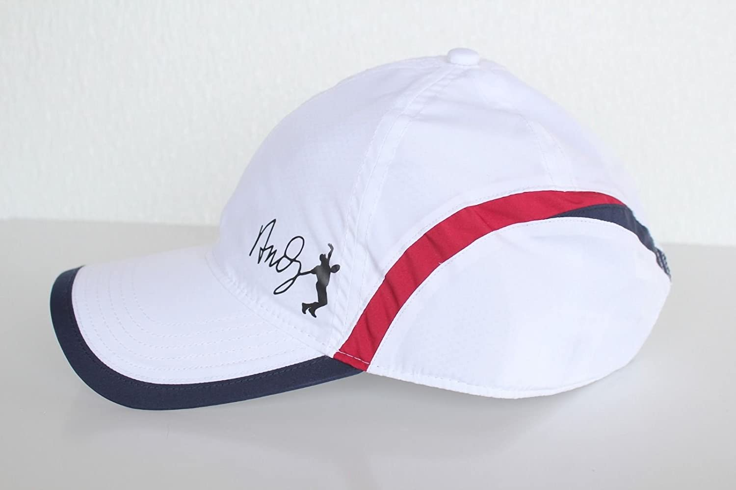 2bc73eb1 Lacoste Men's Green Croc Poly Andy Roddick Cap Hat White RK4386 ...