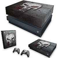 Capa Anti Poeira e Skin para Xbox One X - The Punisher Justiceiro #B