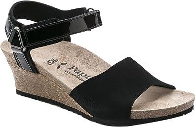8cec52ad5cb2 Birkenstock Women s Eve Black Suede Sandal