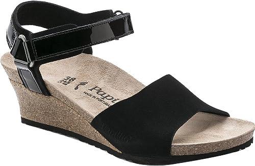 4ec46d1ceed Birkenstock Women s Eve Black Suede Sandal  Amazon.ca  Shoes   Handbags