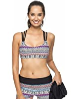Next- Find Your Chi Tankini with Sports Bra - Black