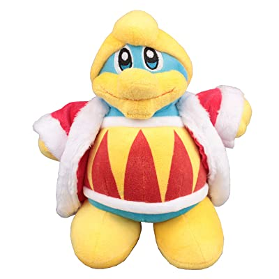 uiuoutoy Kirby King Dedede Plush 10'' Figure: Toys & Games
