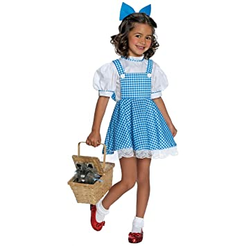 THE WIZARD OF OZ ~ Deluxe Dorothy - Kids Costume 3 - 4 years  sc 1 st  Amazon UK & THE WIZARD OF OZ ~ Deluxe Dorothy - Kids Costume 3 - 4 years: Amazon ...
