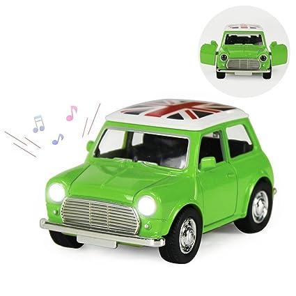 Amazon Com Joyjam Vintage Toy Model Car Mini Cooper 1 38 Scale Mini