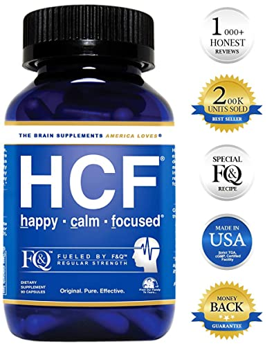 HCF Brain Supplement with Amino-Acids & Vitamins for Memory