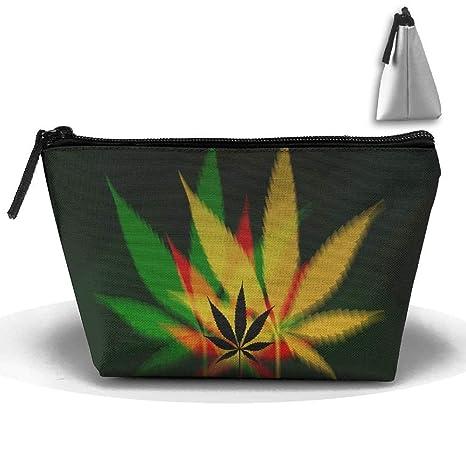 Bolsas de maquillaje Weed Smoke Oxford Cloth Wash Maquillaje ...