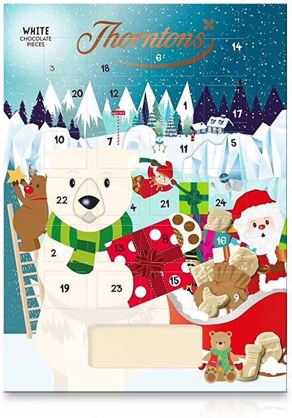 Thorntons White Chocolate Polar Bear Advent Calendar