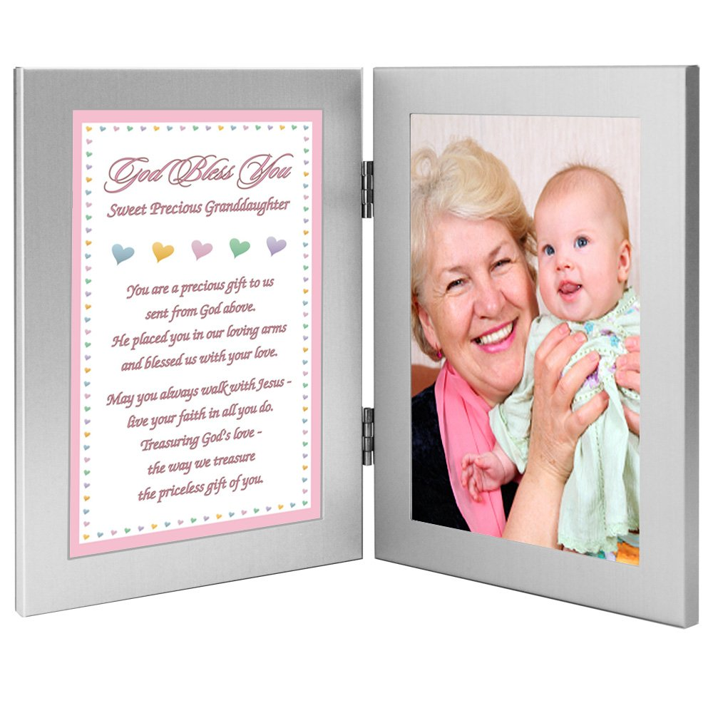 New Baby or Granddaughter Baptism Gift from Grandparent s Add Photo