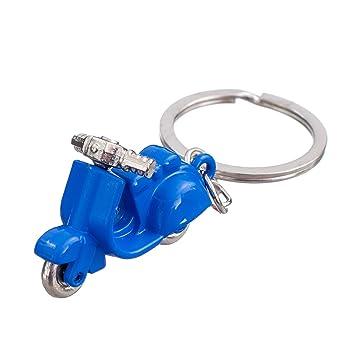 nanomondo &apos llavero Azul Motor Roller de metal N1099 ...