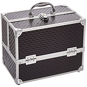 Caboodles Love Struck Six Tray Makeup Train Case, 3.91 Pound