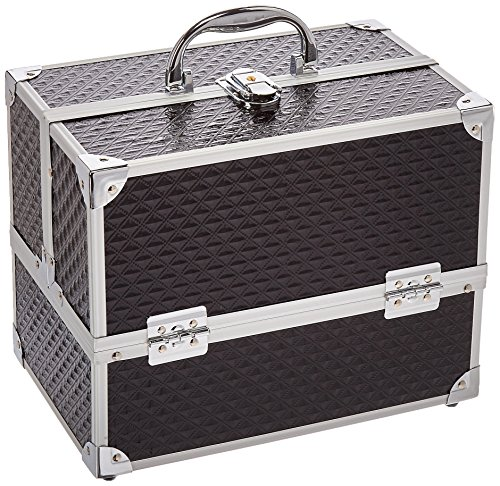 Caboodles Love Struck Six Tray Makeup Train Case, 3.91 Pound (Case Caboodles Makeup)
