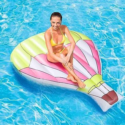 Amazon.com: INSGIRL - Tumbona inflable para piscina, 61 ...