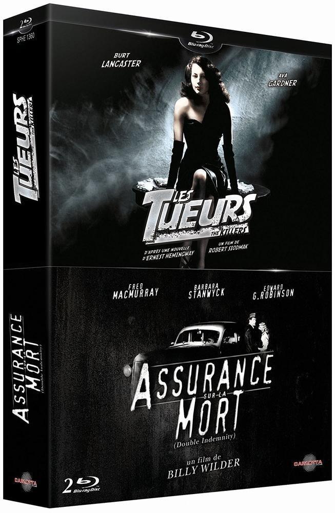 Assurance sur la mort + Les tueurs Francia Blu-ray: Amazon.es: Fred MacMurray, Barbara Stanwyck, Sam Levene, Vince Barnett, Edward G. Robinson, Porter Hall, ...