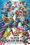 "MCPosters Super Smash Bros Ultimate Switch Poster GLOSSY FINISH - NVG230 (24"" x 36"" (61cm x 91.5cm))"